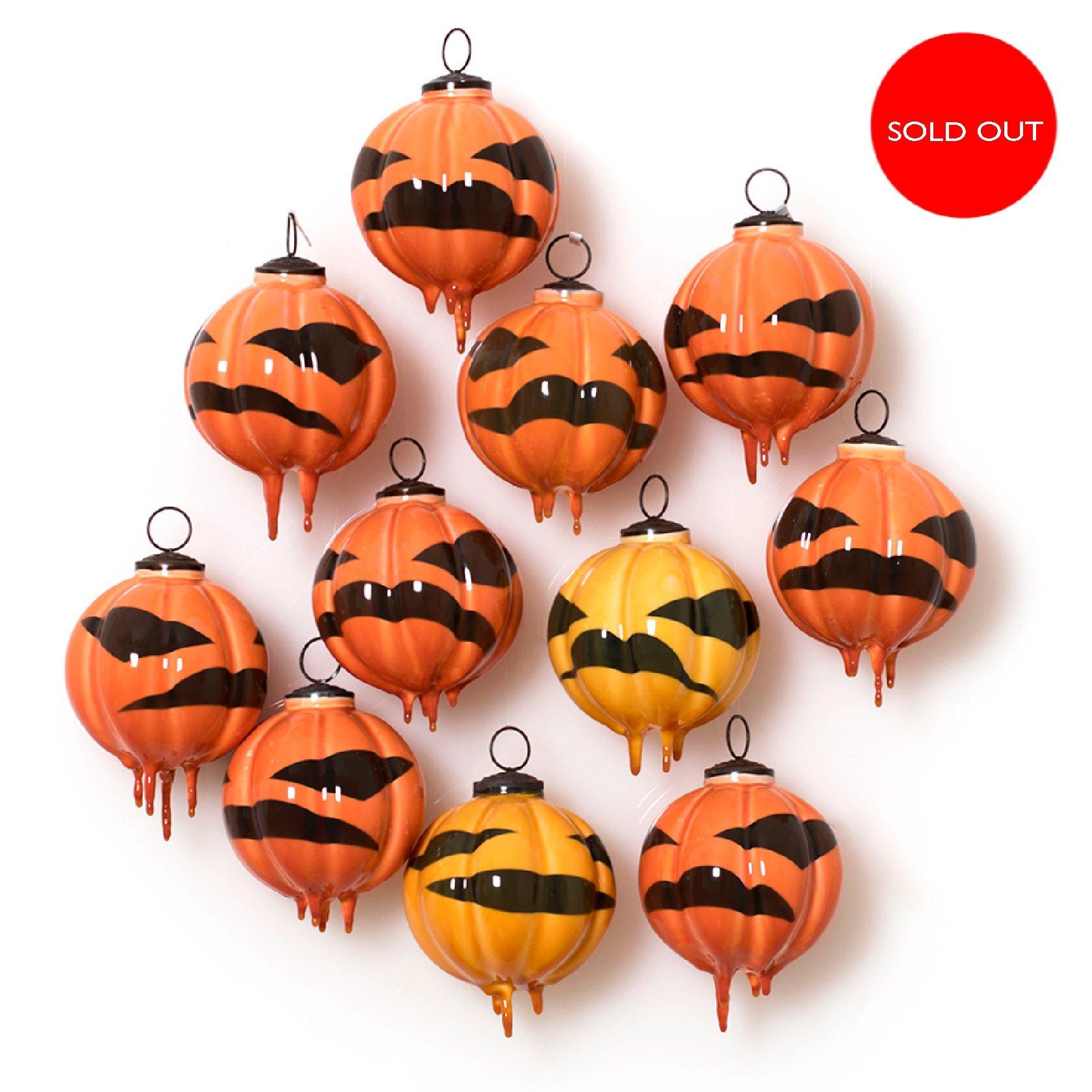 Lantern Pumpkin Bauble (click)